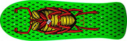 POWELL BUG LIME GREEN RE-ISSUE DECK 10.00