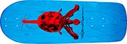 POWELL RODRIGUEZ SKULL & SWORD BLUE  RE-ISSUE DECK 10.00 X 28.25