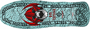 POWELL WELINDER SKULL RED  RE-ISSUE DECK 9.62
