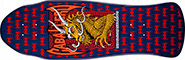 POWELL CABALLERO DRAGON & BATS NAVY/RED RE-ISSUE DECK 9.62
