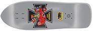 BLACK LABEL RICKY BARNES RED BARON GREY DIP  RE-ISSUE DECK 10.25