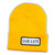 OUR LIFE PATCH LOGO BEANIE YELLOW