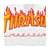 THRASHER FLAME WHITE SS S