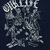 OUR LIFE ALLEY LIFE NAVY SS XL