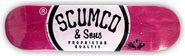 SCUMCO & SONS LOGOBOARD DECK 8.00