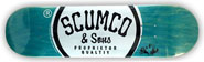 SCUMCO & SONS LOGOBOARD DECK 8.25