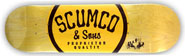 SCUMCO & SONS LOGOBOARD DECK 8.50