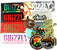 GRIZZLY STICKER PACK 13 CT
