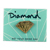 DIAMOND METAL BRILLIANT ENAMEL PIN GOLD