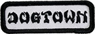 DOGTOWN EMBROIDERED WORK PATCH