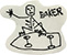 BAKER FROM THE GRAVE STICKER