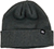 LOWCARD LONGSHOREMAN DOUBLE DOWN BLACK BEANIE