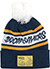 DOOM SAYERS DSC NAVY/WHITE/YELLOW POM BEANIE