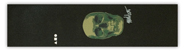 ATELIER MARK OBLOW SKULL GREEN  GRIP TAPE SHEET