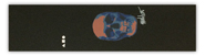ATELIER MARK OBLOW SKULL BLUE  GRIP TAPE SHEET