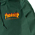 THRASHER FLAME MAG HOODED COACH FOREST JACKET M