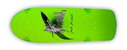 POWELL PERALTA BONES BRIGADE MIKE MCGILL JET FIGHTER GREEN RE-ISSUE DECK 10.28