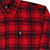 HARD LUCK MALIBU RED FLANNEL L/S L