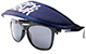 HAPPY HOUR SUNGLASS HAT NAVY (SUNGLASSES NOT INCLUDED)