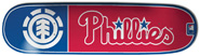 ELEMENT X MLB PHILADELPHIA  PHILLIES CLUB DECK 8.25