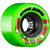 BONES ATF ROUGH RIDERS SHOTGUN GREEN WHEELS 56MM 80A (Set of 4)