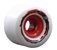 VENOM THUG LIFE SIX FOURS WHITE/RED HUB 64MM 78A (Set of 4)