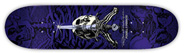 POWELL SKULL & SWORD PURPLE PP DECK 8.50