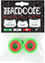 HARDCORE BARREL BUSHINGS 85A GREEN/RED SET OF 2