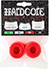 HARDCORE BARREL BUSHINGS 90A RED/RED SET OF 2