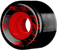 POWELL GRAVEL GRINDERS BLACK/RED 56MM 80A (Set of 4)