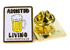 GOOD WORTH & CO ASSISTED LIVING BEER LAPEL PIN