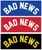 GRIZZLY BAD NEWS STICKER