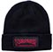 THRASHER CHINA BANKS PATCH BLACK BEANIE