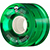 POWELL CLEAR GREEN CRUISER WHEEL 59MM 80A (Set of 4)