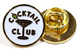 GOOD WORTH & CO COCKTAIL CLUB LAPEL PIN