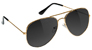 GLASSY DAEWON SONG GOLD POLARIZED SUNGLASSES