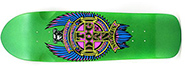 DOGTOWN DRESSEN MINI PUP GREEN FLAKE CRUISER DECK 8.5 X 29.25