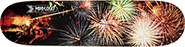 MINI LOGO SMALL BOMB DECK 7.5 X 31.37 FIREWORKS -SHAPE 124
