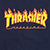 THRASHER FLAME NAVY SS S