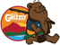 GRIZZLY GONE FISHING STICKER
