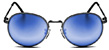 HAPPY HOUR HAWK HOLIDAZE BLACK/BLUE SHADES SUNGLASSES