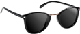 GLASSY DAVID LOY BLACK POLARIZED SUNGLASSES