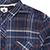 ELEMENT BUFFALO MIDNIGHT BLUE LS FLANNEL SHIRT L
