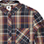 ELEMENT BUFFALO NAPA RED LS FLANNEL SHIRT L