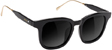 GLASSY ROYAL BLACK/GOLD SUNGLASSES