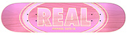 REAL TEAM OVAL DUO FADE PINK PP DECK 7.38