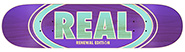 REAL TEAM OVAL DUO FADE PURPLE PP DECK 7.56