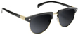 GLASSY MARTY MURAWSKI BLACK/GOLD POLARIZED SUNGLASSES