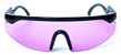 HAPPY HOUR TAYLOR KIRBY ACCELERATORS BLACK/PURPLE SHADES SUNGLASSES