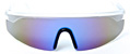 HAPPY HOUR TAYLOR KIRBY ACCELERATORS CLEAR/BLUE SHADES SUNGLASSES